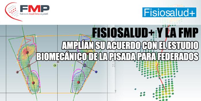 Fisiosalud y la fmp ampl an su acuerdo con el estudio biomec nico de la pisada para federados - Estudio biomecanico de la pisada precio ...