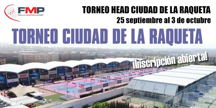 TORNEO HEAD CIUDAD DE LA RAQUETA