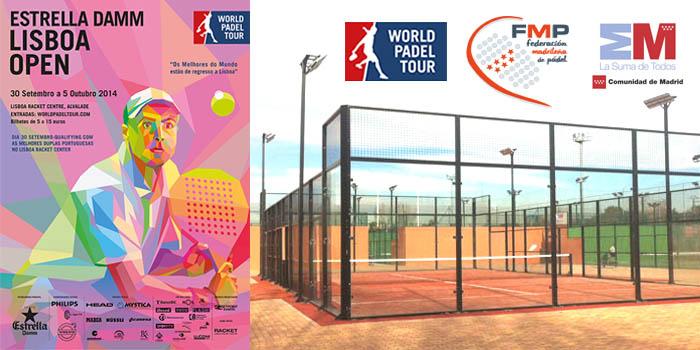 Las fases previas del World Padel Tour Lisboa se jugarán en las pistas de la FMP en el P.D. Puerta de Hierro.
