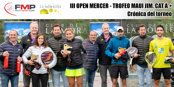 III OPEN MERCER – TROFEO MAUI JIM CAT. A+