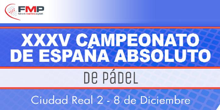 XXXV CAMPEONATO ABSOLUTO DE ESPAÑA