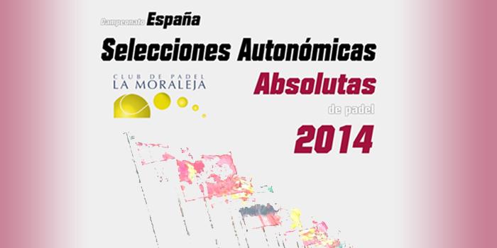 CAMPEONATO DE ESPAÑA DE SELECCIONES AUTONÓMICAS 2014