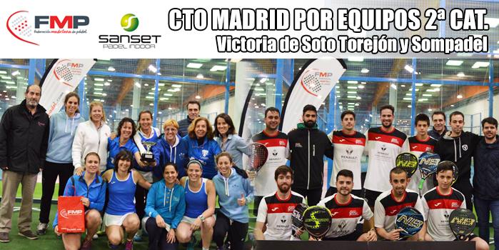 Soto Torrejón y Sompadel, campeones 2ª categoría