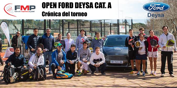 OPEN FORD DEYSA CAT. A