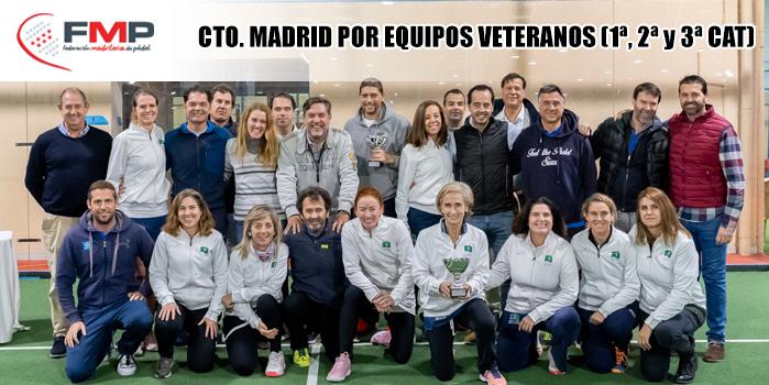 CAMPEONATO DE MADRID POR EQUIPOS DE 1ª, 2ª y 3ª CATEGORÍA