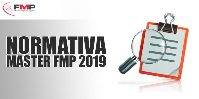 NORMATIVA MASTER FMP 2019