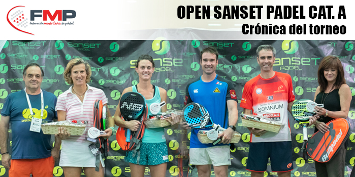 OPEN SANSET PADEL CAT. A