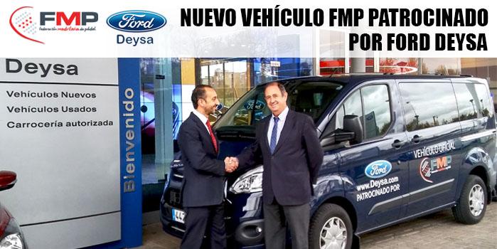 NUEVO VEHÍCULO FMP PATROCINADO POR FORD DEYSA