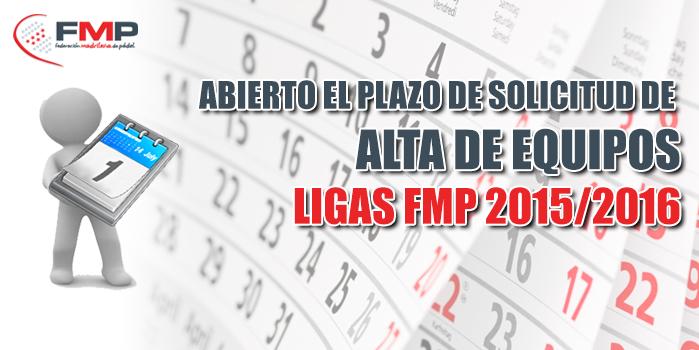LIGAS FMP 2015 2015