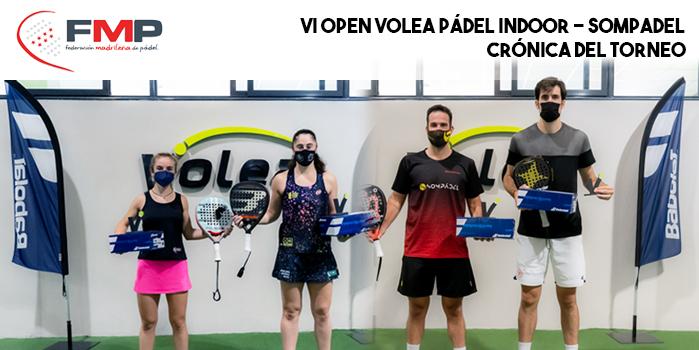 VI OPEN VOLEA PÁDEL INDOOR - SOMPADEL