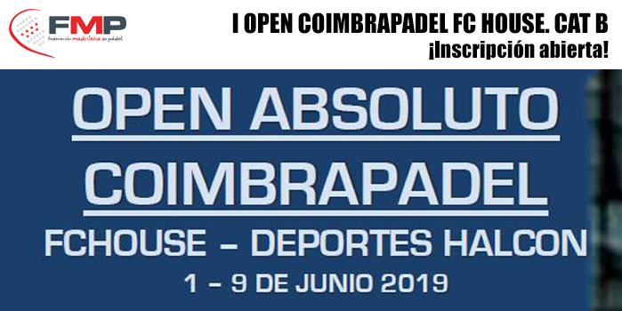 I OPEN COIMBRAPADEL FC HOUSE. CAT B