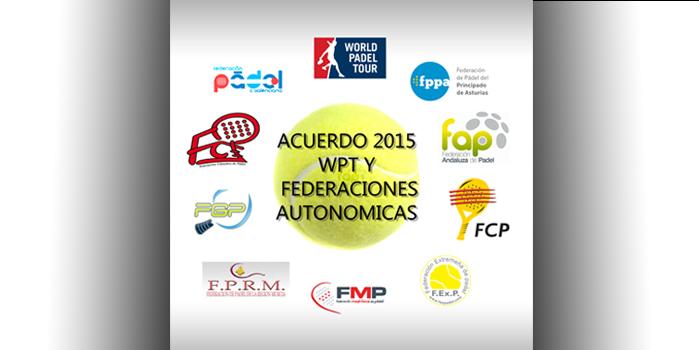ACUERDO WPT Y FEDERACIONES AUTONÓMICAS