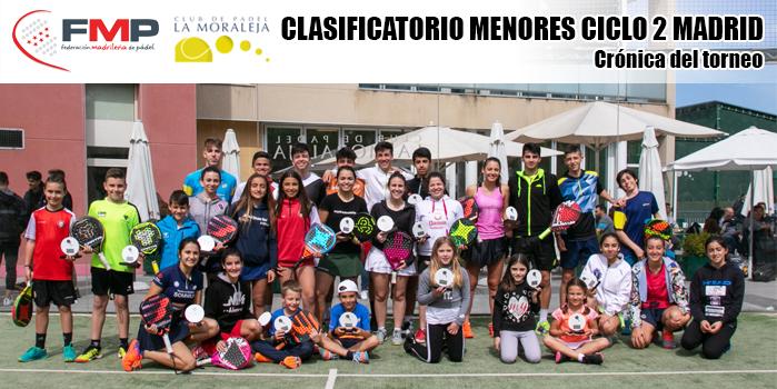 TORNEO CLASIFICATORIO MENORES CICLO 2 MADRID