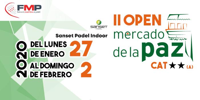 II OPEN MERCADO DE LA PAZ. CAT 2**