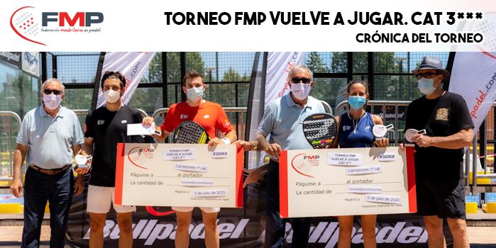 TORNEO FMP 'VUELVE A JUGAR' CAT. 3*** - Crónica del torneo
