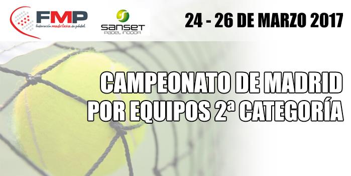 Campeonato de Madrid por Equipos 2ª categoría