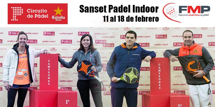 XXII CIRCUITO DE PÁDEL ESTRELLA DAMM. SANSET PÁDEL. CAT A +