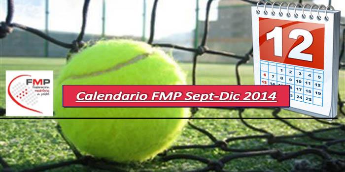 CALENDARIO DE TORNEOS FMP