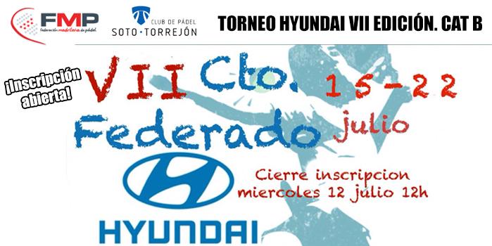 TORNEO HYUNDAI VII EDICIÓN. CAT B