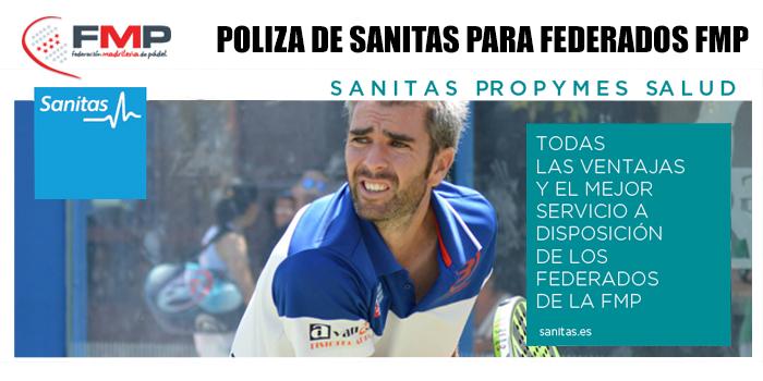 POLIZA DE SANITAS PARA FEDERADOS FMP