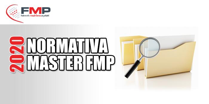 NORMATIVA MASTER FMP 2020